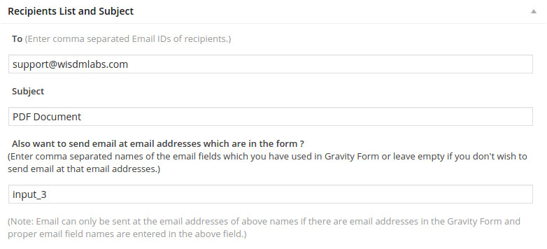 gravity forms pdf word document automation solution