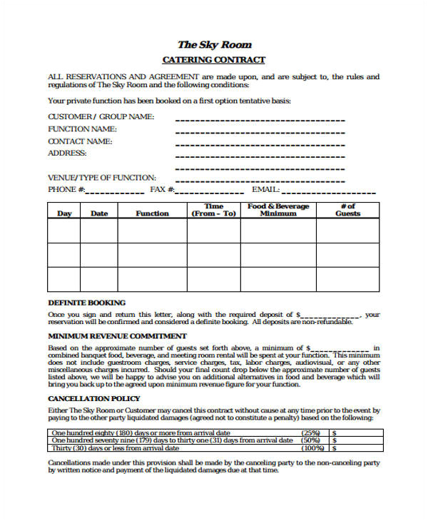 contract templates in pdf