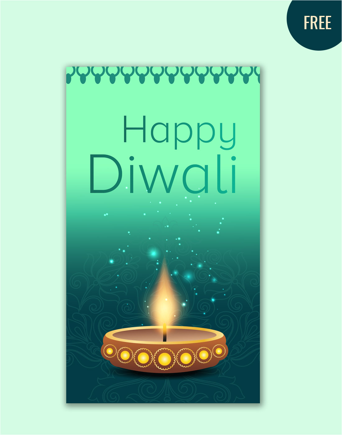 diwali greetings card
