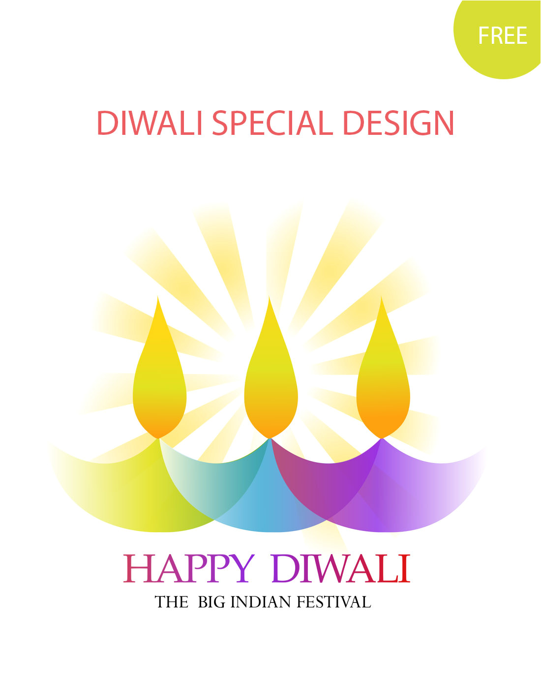 diwali greetings template