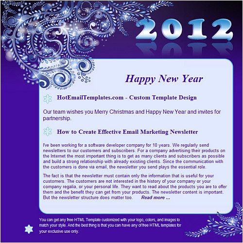 happy new 2012 year