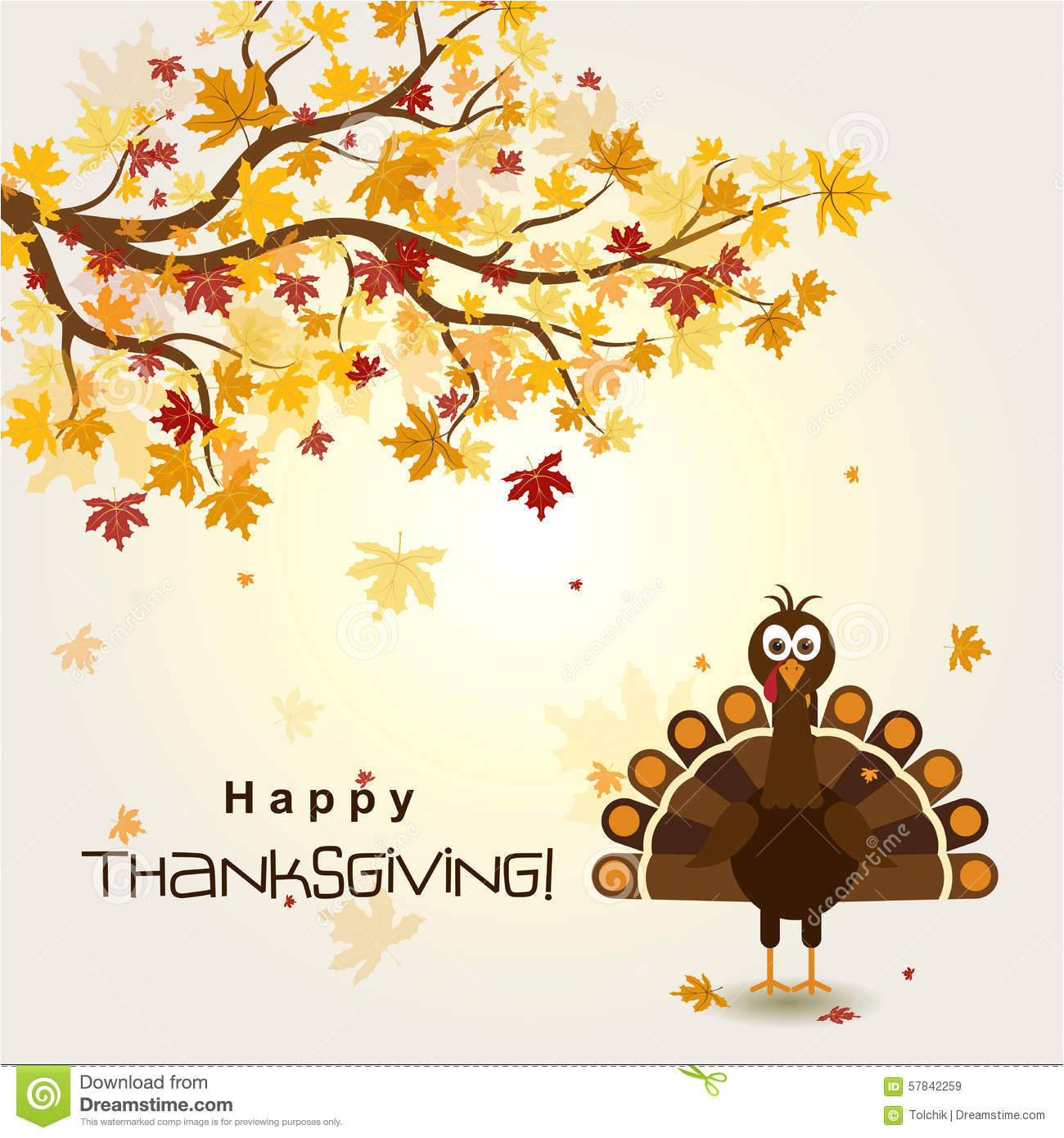 stock illustration template greeting card happy thanksgiving turkey vector illustration image57842259