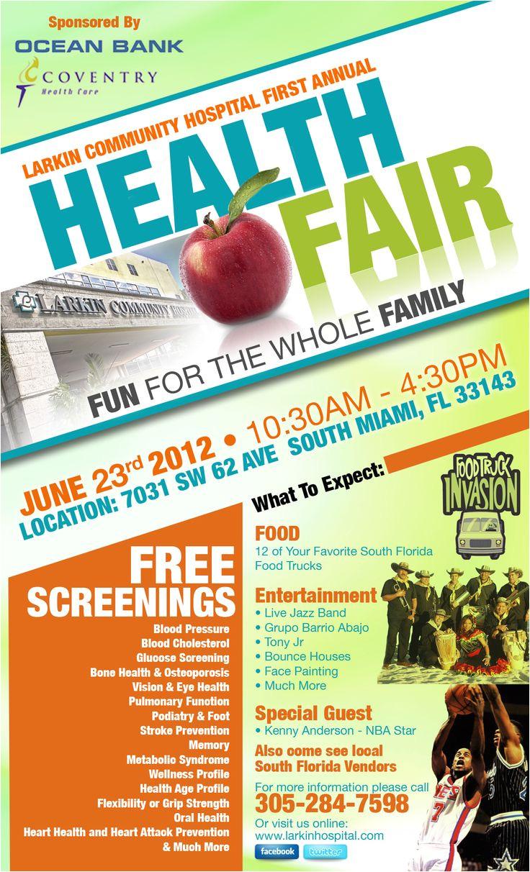 Health and Wellness Fair Flyer Template 15 Best Images About Health Fair On Pinterest Wear