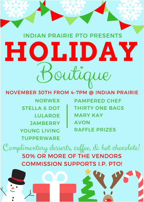 holiday boutique flyer 2