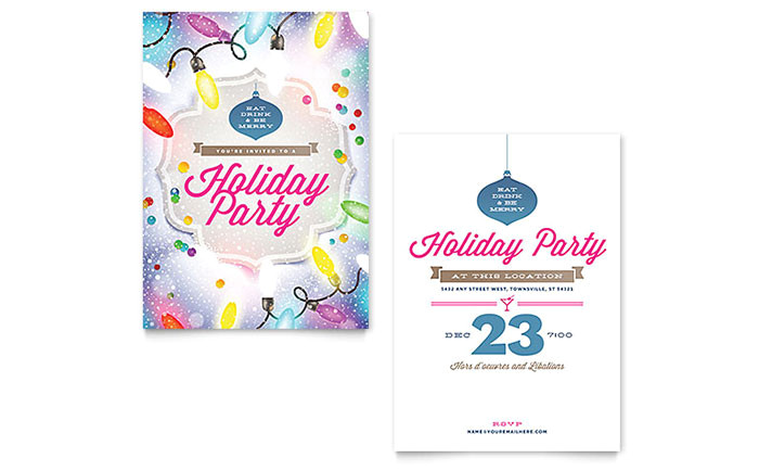 holiday party invitation templates xx1532701d