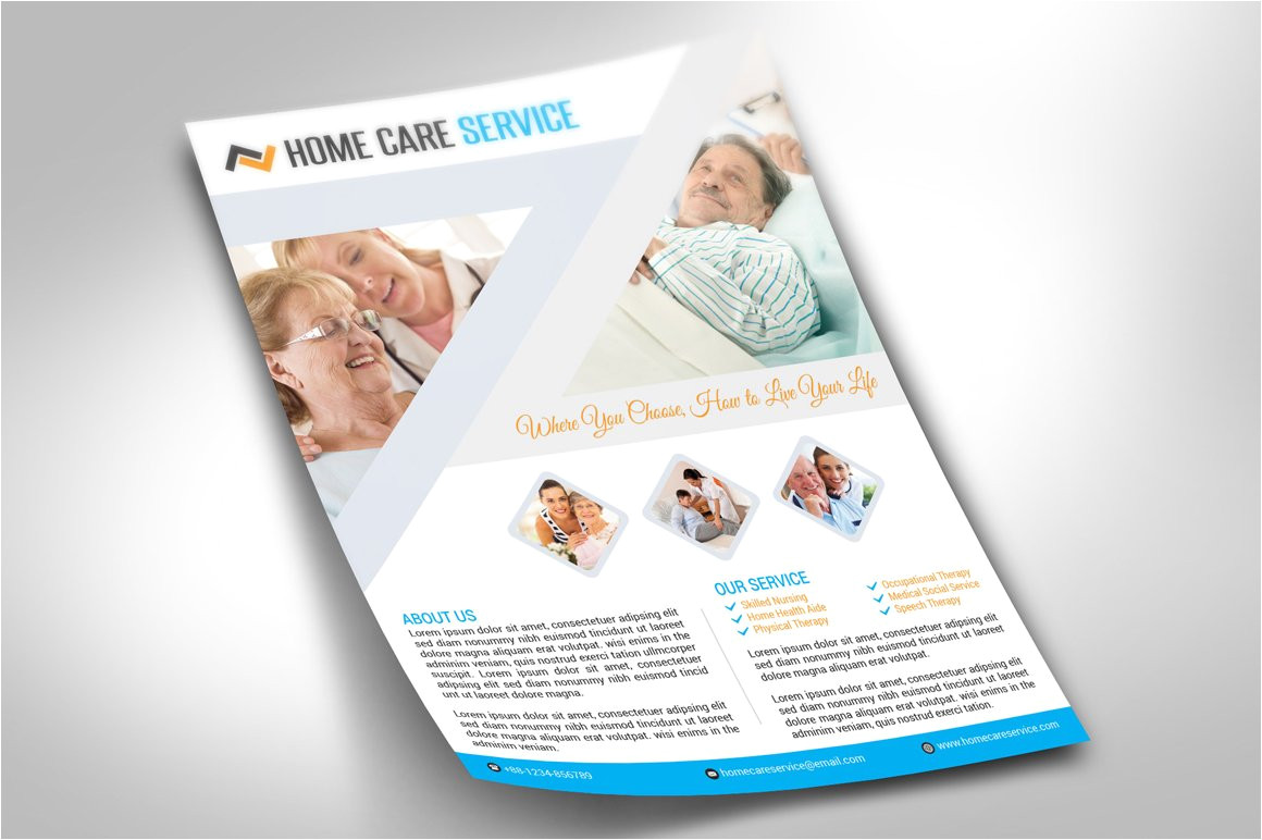 215496 home care flyer