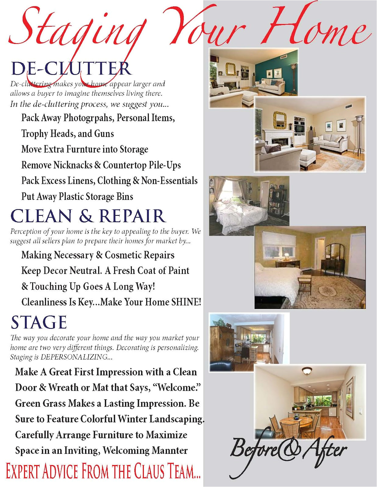 Home Staging Flyer Templates Re Location Matters Home Staging is A Vital Part Of