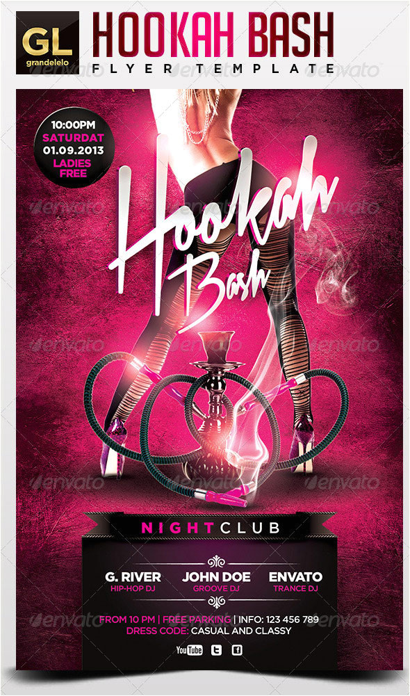 Hookah Flyer Template Free 25 Really Awesome Typography Flyer Psd Templates Web