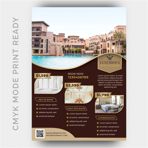 luxury hotel template poster flyer 2946454