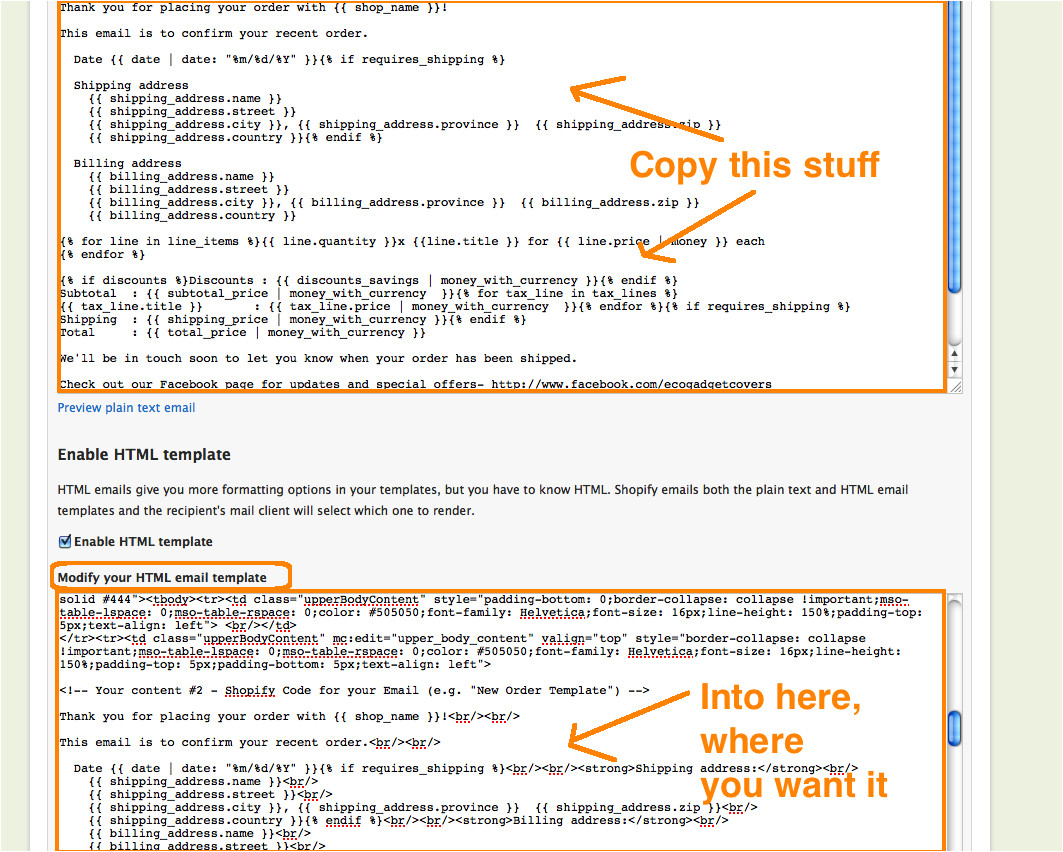 How to Code HTML Email Template Shopify HTML Email Templates A Beginner 39 S Guide