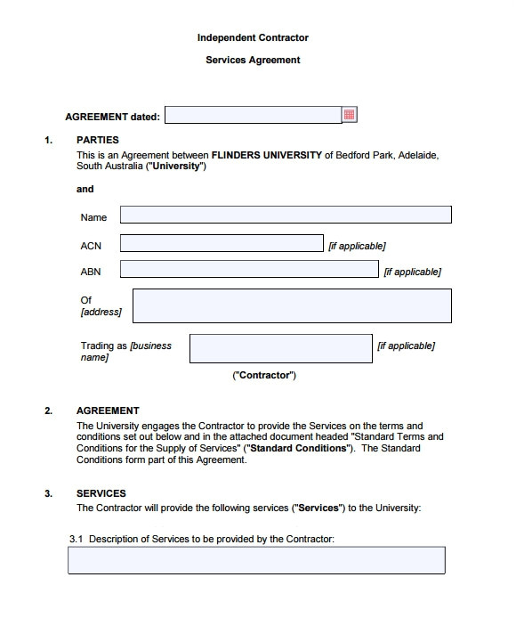 How to Create A Contract Template Sample Contract Agreement 12 Documents In Pdf Word