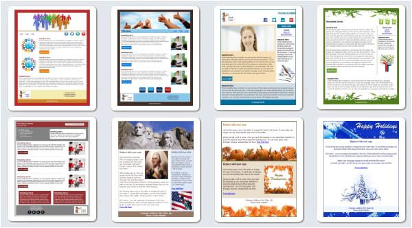 custom html email newsletter templates