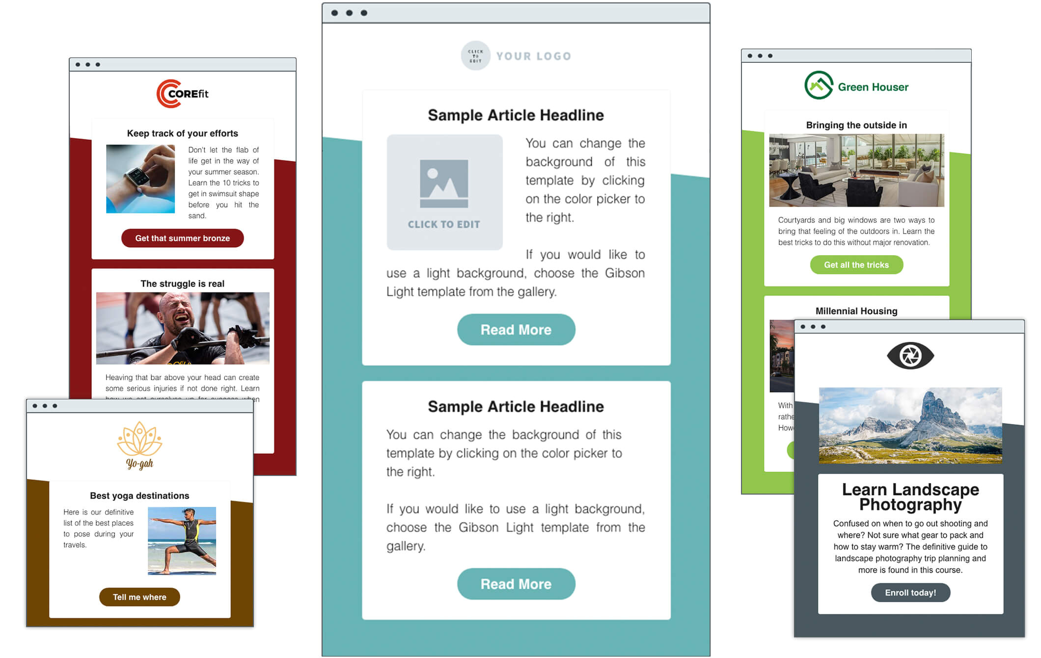 How to Create Email Marketing Templates HTML Email Templates Aweber Email Marketing