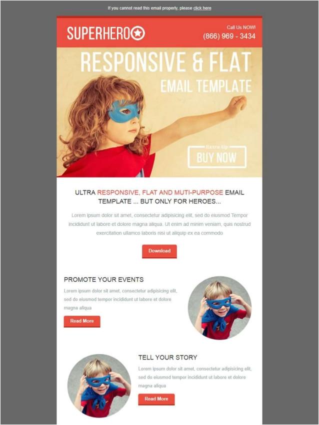 superheroo email template email marketing templates kokoawebcom at stampliacom 41501915