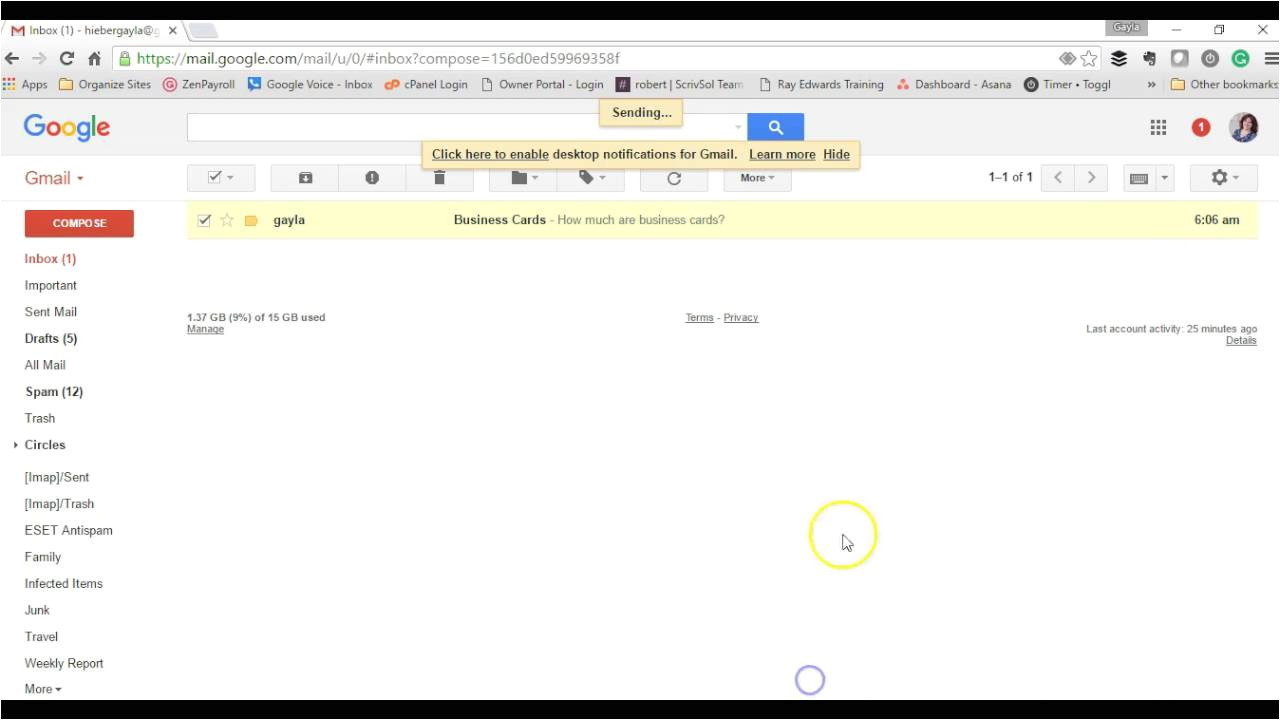 How to Create Email Templates In Gmail How to Create An Email Template In Gmail Youtube