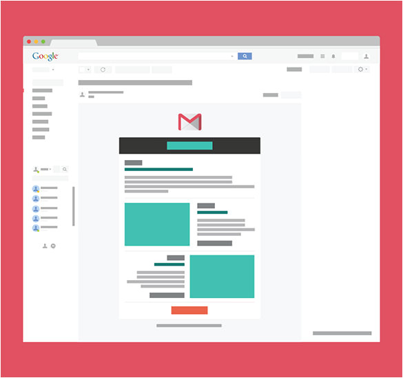 gmail email template