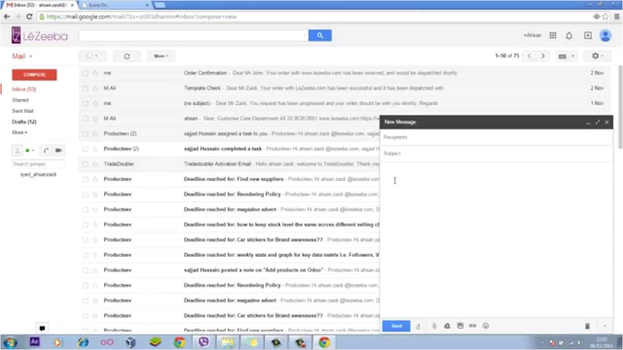 How to Create HTML Email Template In Gmail Create An Email Template In Gmail No HTML No Coding Youtube