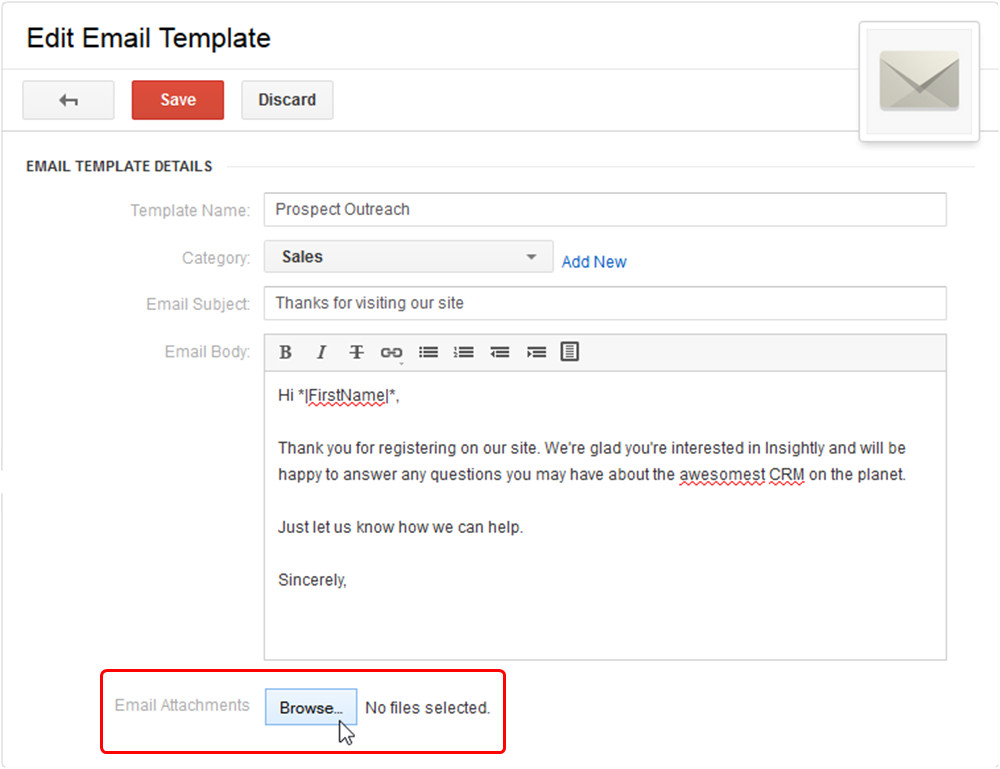 204706720 setting up email templates