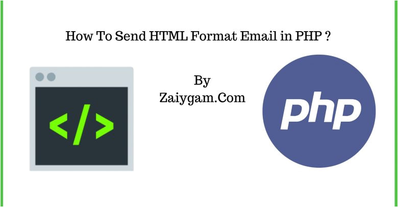 send html format email php