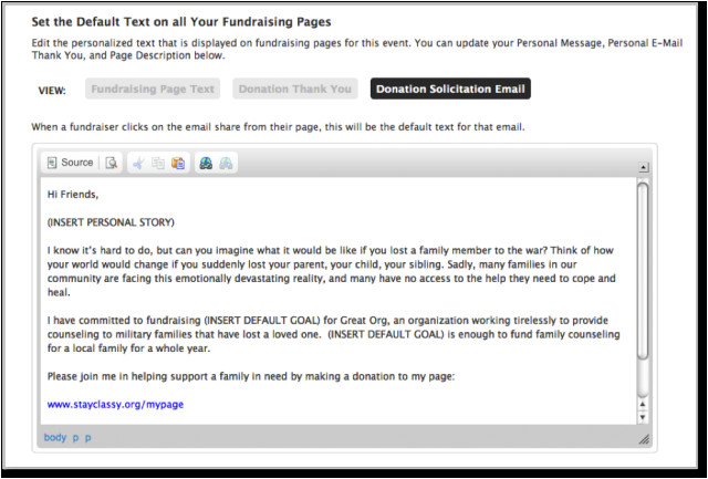 How to Write An Email Template Write the Perfect Nonprofit Fundraising Email Classy