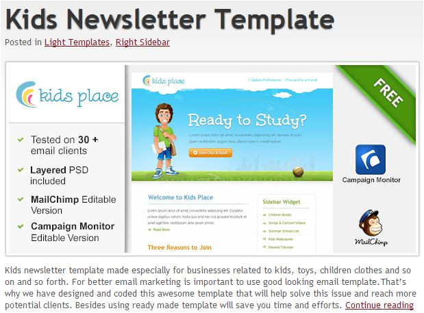 Html Email Advertising Templates 600 Free Email Templates Jumpstart Your Email Design