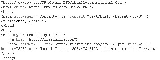adding html email signatures gmail