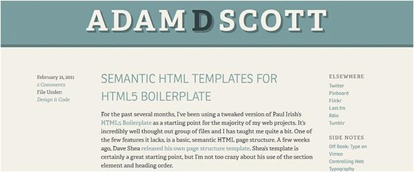 html5 boilerplate templates tutorials
