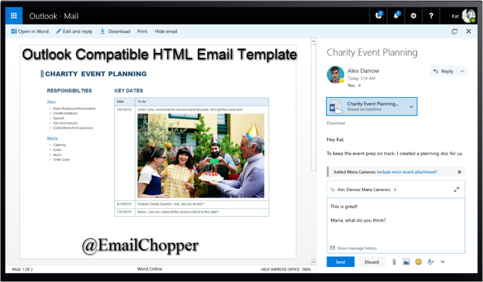 useful tips tricks to create outlook compatible html email template