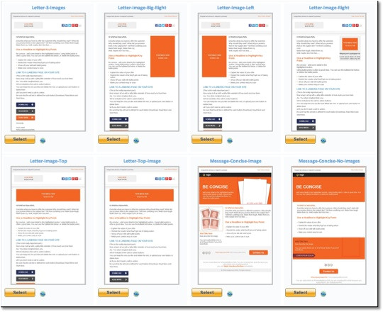 html email template examples