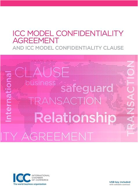 icc model contract confidentiality agreement 774
