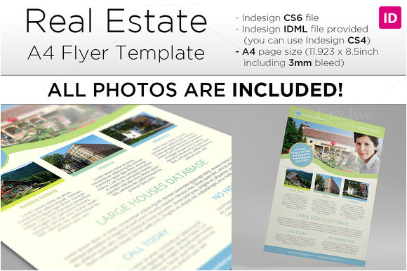 indesign real estate flyer torrent