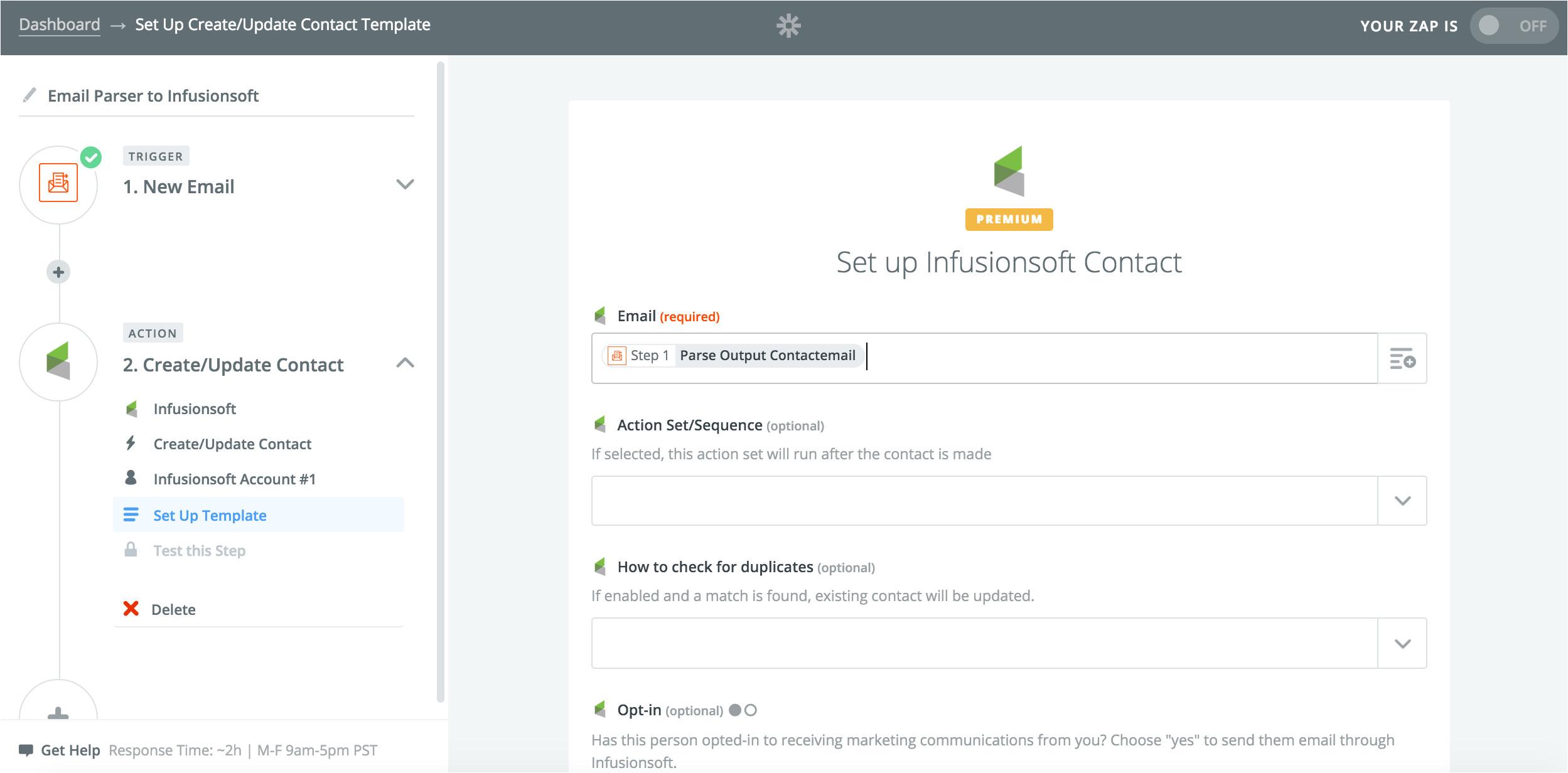 infusionsoft integrations