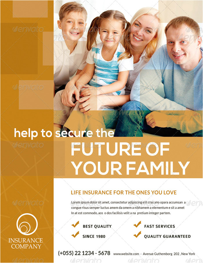 15 printable insurance flyer templates