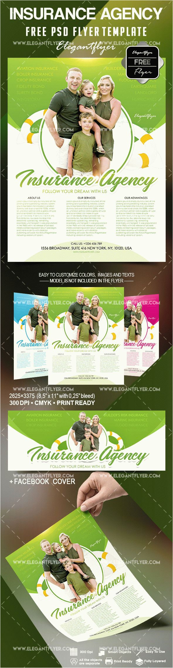 free insurance agency flyer template
