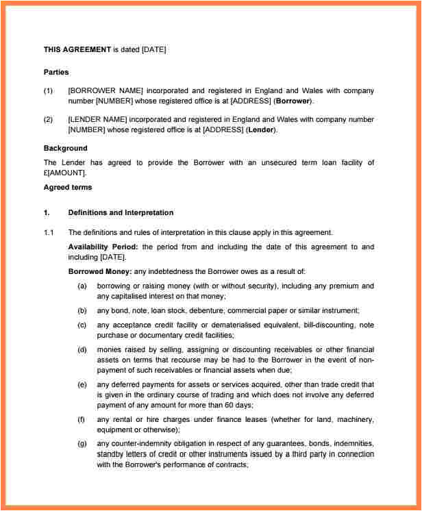 6 small business investment agreement template