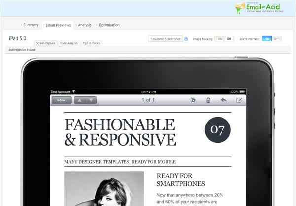 fashionable and responsive designer templates ready for mobile