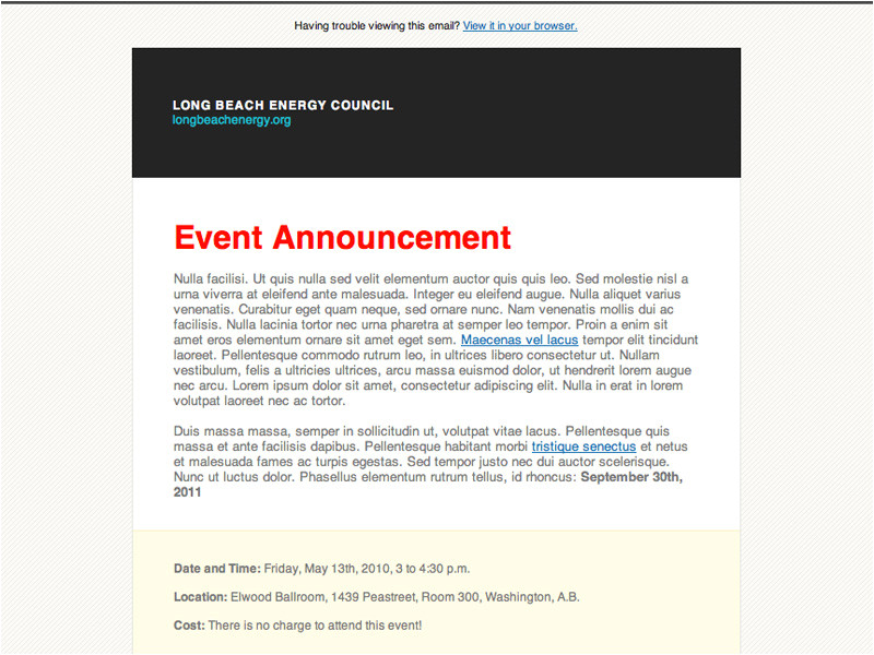 post corporate announcement templates 370326