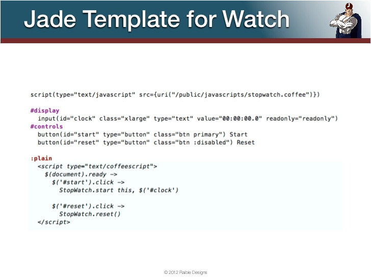Jade Email Template Jade Template for Watch