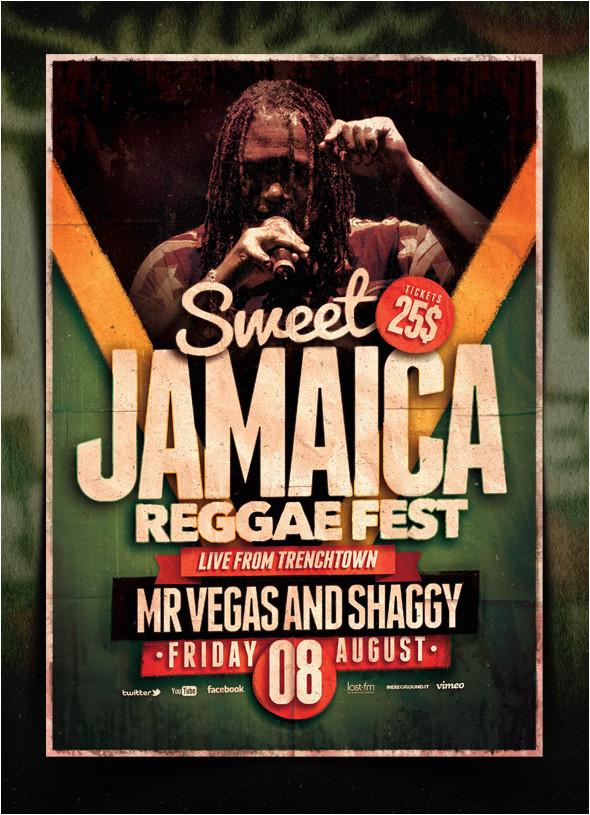 reggae poster template vol 6 370033576