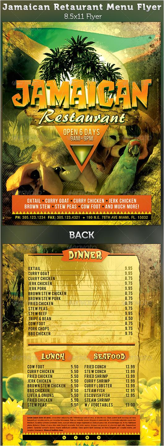 restaurant menu templates graphic designs