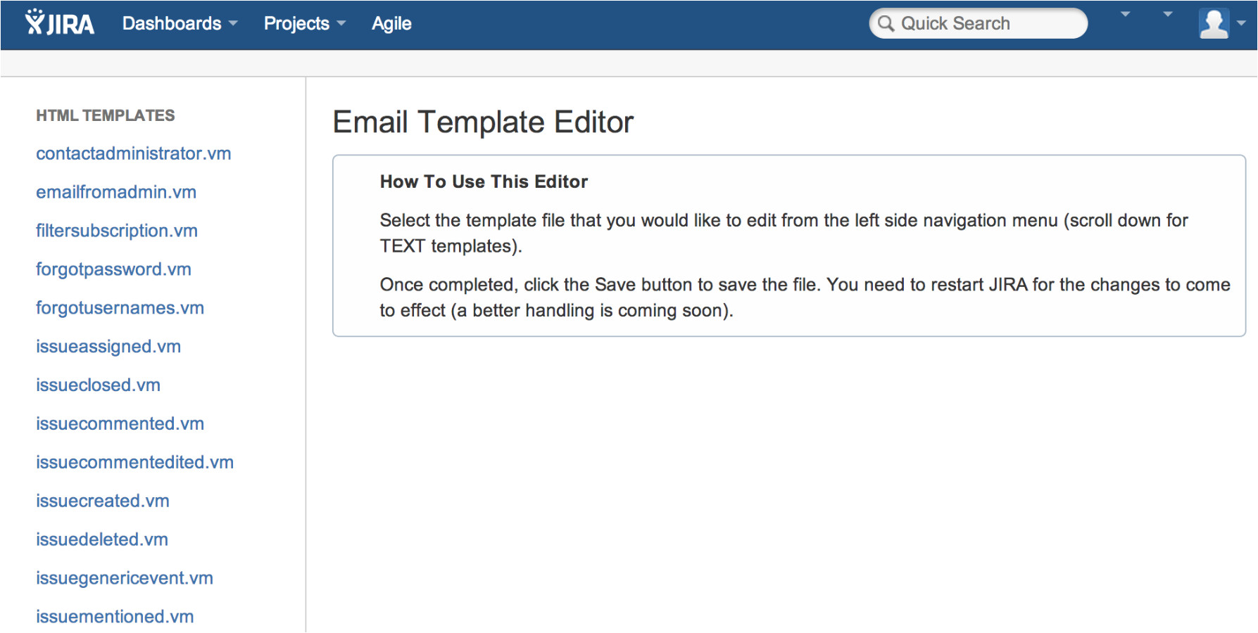 Jira Email Templates Outgoing Email Template Editor for Jira atlassian