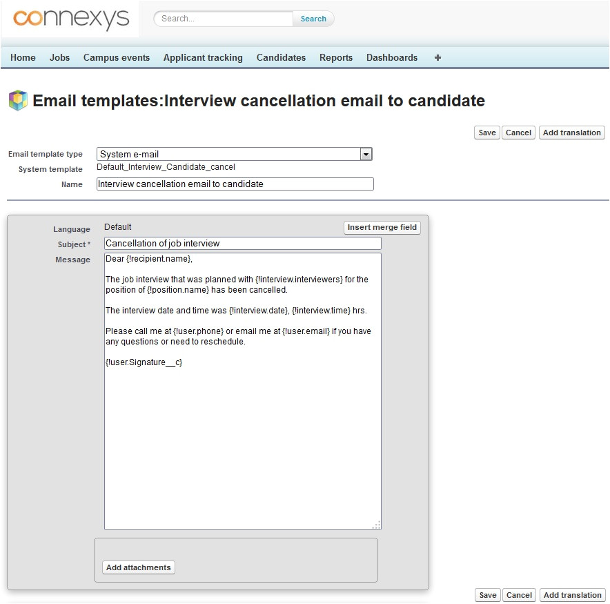200128952 email templates