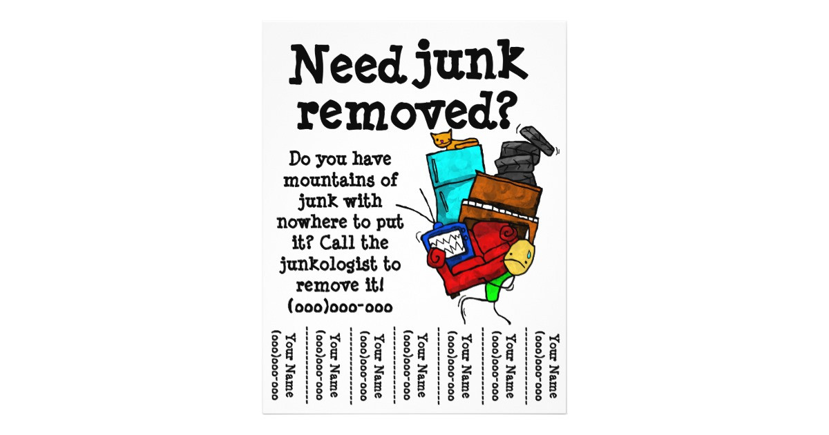 junk removal flyer 244430648648461691