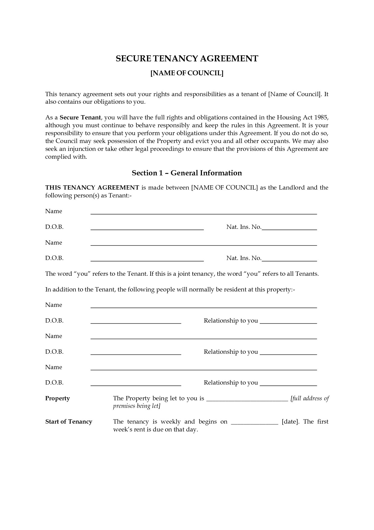 Landlord Tenant Contract Template Uk Quotes About Business Contracts Quotesgram