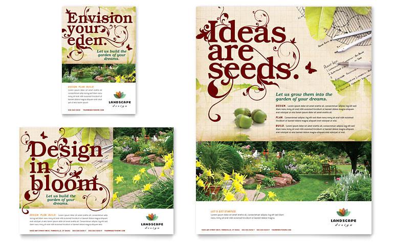 landscape design flyer ad templates af0010701d