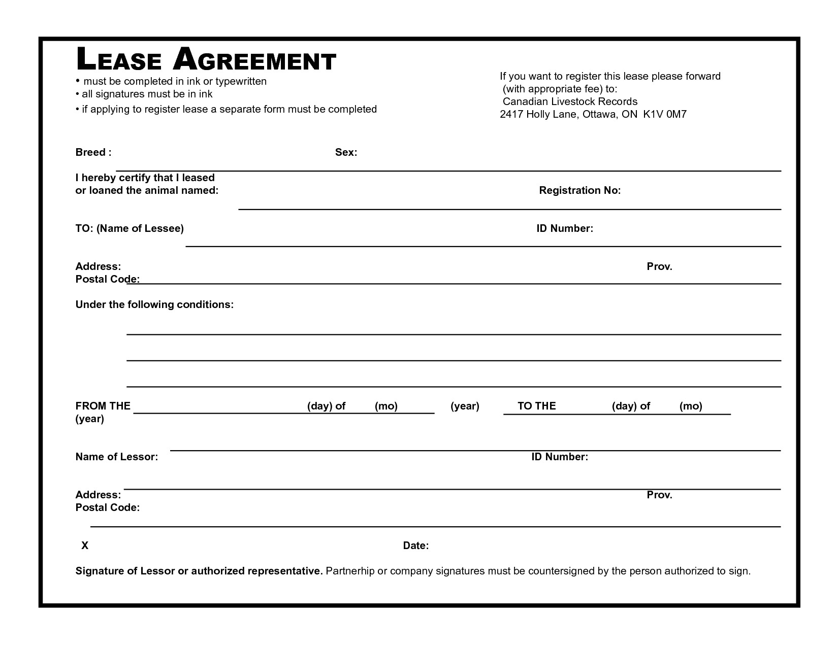 Leasing Contract Template 39 Excellent Rental Lease and Agreement Template Examples