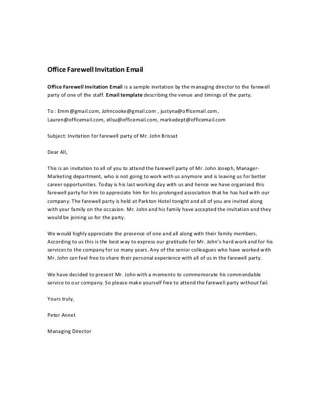 Leaving Work Email Template | williamson-ga.us