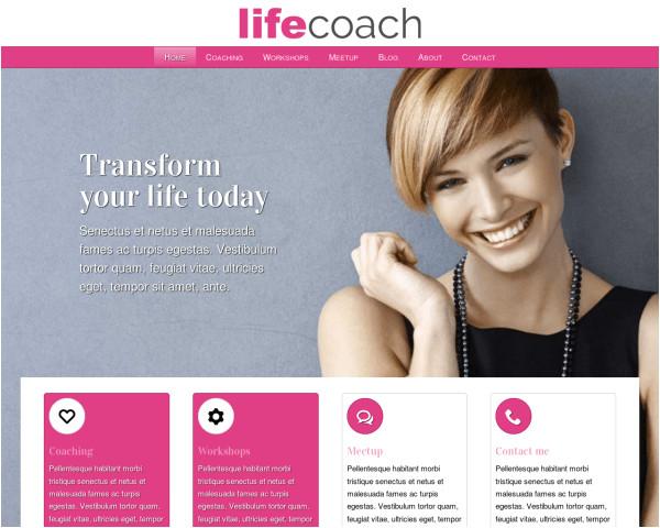 Life Coaching Flyers Templates Beautymarketeer WordPress Website Voor