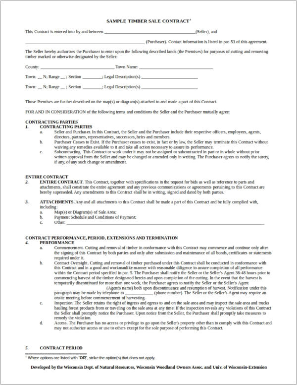contract templates doc
