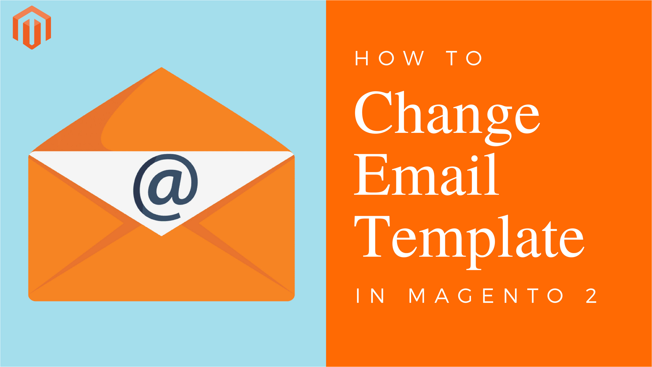 how to change email template in magento